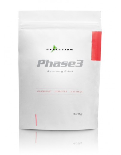 Evolution Phase3 Mansikka 400 g Stevia