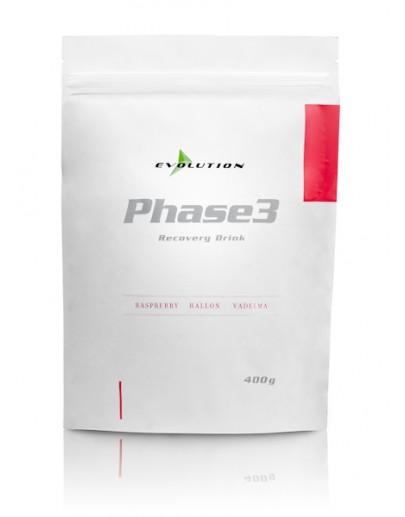 Evolution Phase3 Vadelma 400 g Stevia